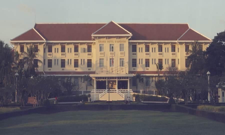 ラッフルズ グランド ホテル ドゥ アンコール